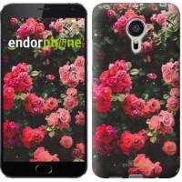 Чехол для Meizu MX5 Куст с розами 2729c-105