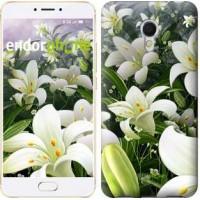 Чехол для Meizu MX6 Белые лилии 2686m-259