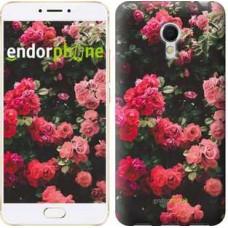 Чехол для Meizu MX6 Куст с розами 2729m-259