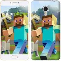 Чехол для Meizu MX6 Minecraft 4 2944m-259