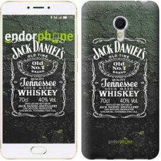 Чехол для Meizu MX6 Whiskey Jack Daniels 822m-259