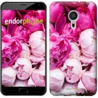 Чехол для Meizu Pro 5 Розовые пионы 2747u-108
