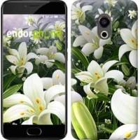 Чехол для Meizu Pro 6 Белые лилии 2686u-293