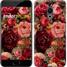 Чехол для Meizu Pro 6 Цветущие розы 2701u-293