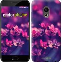 Чехол для Meizu Pro 6 Пурпурные цветы 2719u-293
