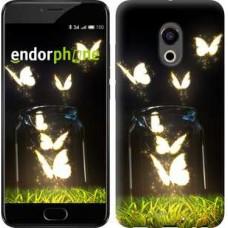 Чехол для Meizu Pro 6 Светящиеся бабочки 2983u-293