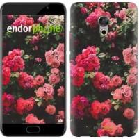 Чехол для Meizu Pro 6 Plus Куст с розами 2729u-678