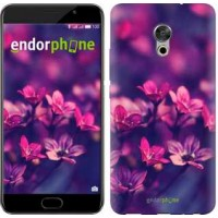 Чехол для Meizu Pro 6 Plus Пурпурные цветы 2719u-678