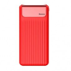 Внешний аккумулятор Baseus Thin Quick Charge 3.0 10000 mAh Red (PPYZ-C09)