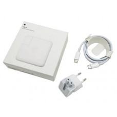Блок питания Apple 20.3V 3A, 9V 3A, 5.2V 2.4A 61W USB-C Box Original + cable (A1718)