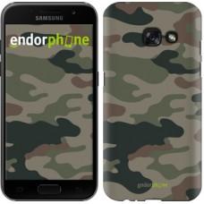 Чехол для Samsung Galaxy A3 (2017) Камуфляж v3 1097m-443