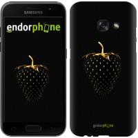 Чехол для Samsung Galaxy A3 (2017) Черная клубника 3585m-443