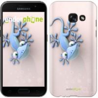 Чехол для Samsung Galaxy A3 (2017) Гекончик 1094m-443