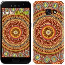 Чехол для Samsung Galaxy A3 (2017) Индийский узор 2860m-443