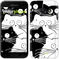 Чехол для Samsung Galaxy A3 (2017) Коты v2 3565m-443