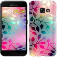 Чехол для Samsung Galaxy A3 (2017) Листья 2235m-443