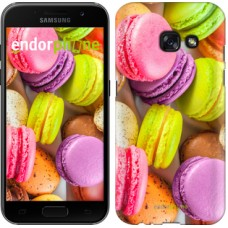 Чехол для Samsung Galaxy A3 (2017) Макаруны 2995m-443