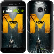 Чехол для Samsung Galaxy A3 (2017) Metro. Last light 631m-443