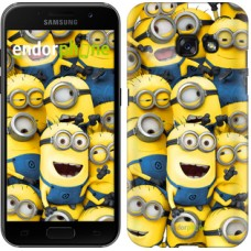 Чехол для Samsung Galaxy A3 (2017) Миньоны 8 860m-443