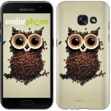 Чехол для Samsung Galaxy A3 (2017) Сова из кофе 777m-443