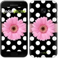 Чехол для Samsung Galaxy A3 (2017) Горошек 2 2147m-443