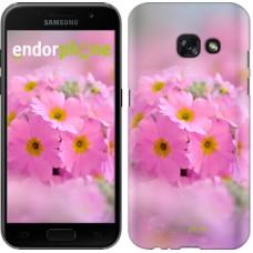 Чехол для Samsung Galaxy A3 (2017) Розовая примула 508m-443