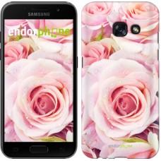 Чехол для Samsung Galaxy A3 (2017) Розы 525m-443
