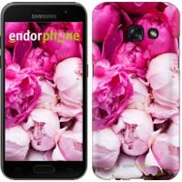 Чехол для Samsung Galaxy A3 (2017) Розовые пионы 2747m-443