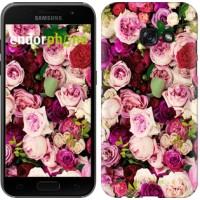 Чехол для Samsung Galaxy A3 (2017) Розы и пионы 2875m-443