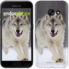 Чехол для Samsung Galaxy A3 (2017) Бегущий волк 826m-443