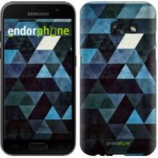 Чехол для Samsung Galaxy A3 (2017) Треугольники 2859m-443