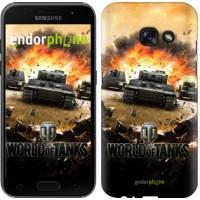 Чехол для Samsung Galaxy A3 (2017) World of tanks v1 834m-443