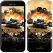 Чехол для Samsung Galaxy A3 (2017) World of tanks v1 834m-443