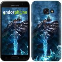 Чехол для Samsung Galaxy A3 (2017) World of Warcraft. King 644m-443