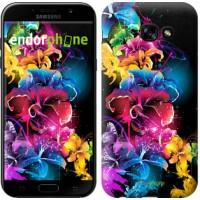 Чехол для Samsung Galaxy A5 (2017) Абстрактные цветы 511c-444