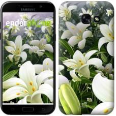 Чехол для Samsung Galaxy A5 (2017) Белые лилии 2686c-444