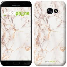 Чехол для Samsung Galaxy A5 (2017) Белый мрамор 3847c-444