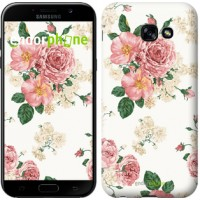 Чехол для Samsung Galaxy A5 (2017) цветочные обои v1 2293c-444