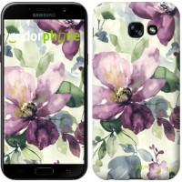 Чехол для Samsung Galaxy A5 (2017) Цветы акварелью 2237c-444
