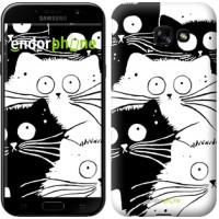 Чехол для Samsung Galaxy A5 (2017) Коты v2 3565c-444