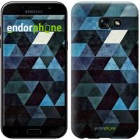 Чехол для Samsung Galaxy A5 (2017) Треугольники 2859c-444