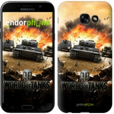 Чехол для Samsung Galaxy A5 (2017) World of tanks v1 834c-444