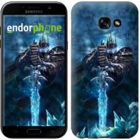 Чехол для Samsung Galaxy A5 (2017) World of Warcraft. King 644c-444