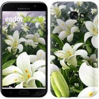 Чехол для Samsung Galaxy A7 (2017) Белые лилии 2686m-445