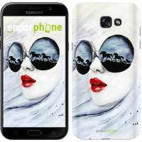 Чехол для Samsung Galaxy A7 (2017) Девушка акварелью 2829m-445