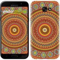 Чехол для Samsung Galaxy A7 (2017) Индийский узор 2860m-445