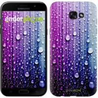 Чехол для Samsung Galaxy A7 (2017) Капли воды 3351m-445