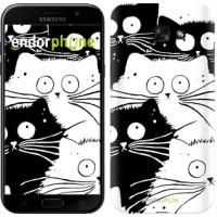 Чехол для Samsung Galaxy A7 (2017) Коты v2 3565m-445