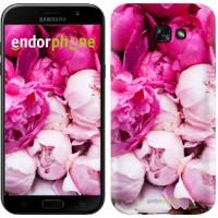Чехол для Samsung Galaxy A7 (2017) Розовые пионы 2747m-445