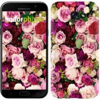 Чехол для Samsung Galaxy A7 (2017) Розы и пионы 2875m-445